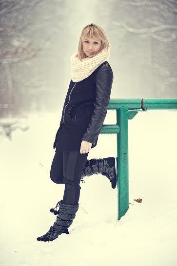 Winter fashion and warm boots   www.mButy.pl pomysły, zestawy, looki z najciekawszymi i najmodniejszymi fasonami butów. https://www.facebook.com/mButyPl