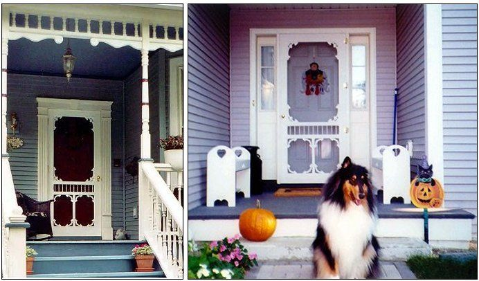 41 best images about vintage screen doors on pinterest for French style storm doors