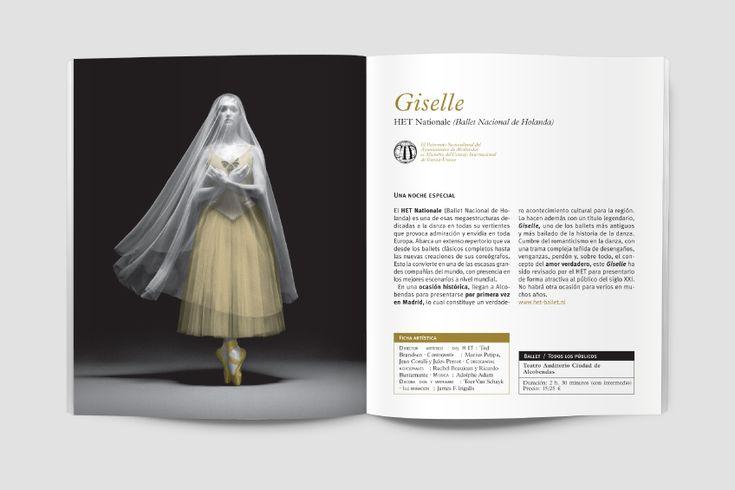 #Diseño #editorial #editorialdesign #metallic #ink #tinta #metálica #booklet #program #programa #teatro #theatre