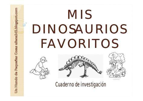Mis dinosaurios favoritos