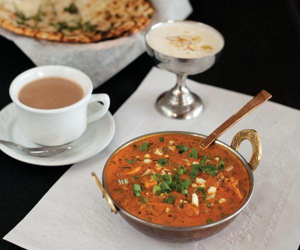 Taj Mahal Indian Restaurant - mushroom aloo matar
