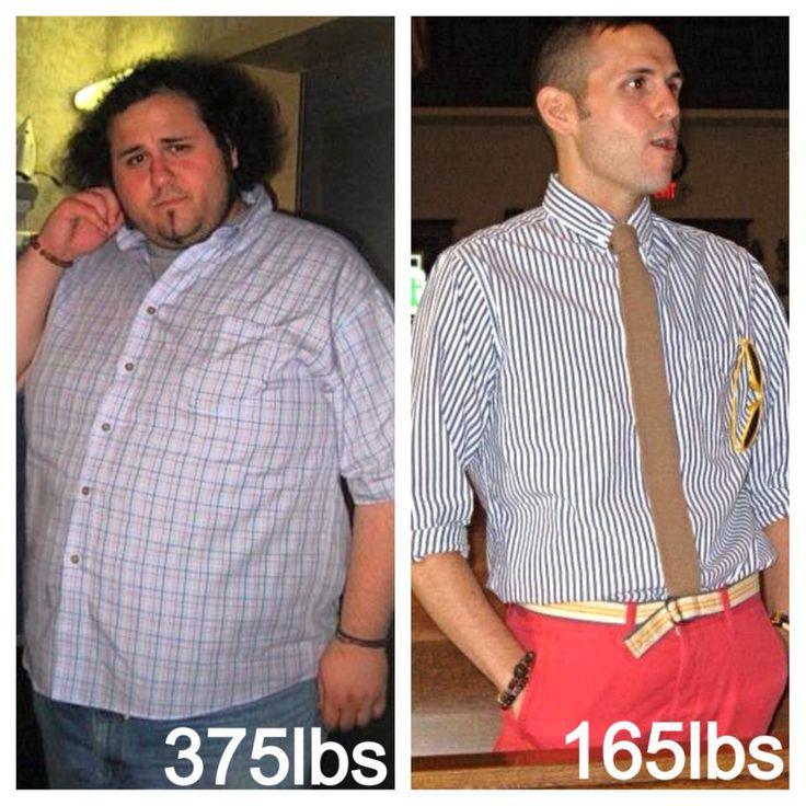 Diet success for Men