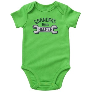 The Carter outlet was having a sale. I couldn't help it. It's so appropriate for all the grandpas.