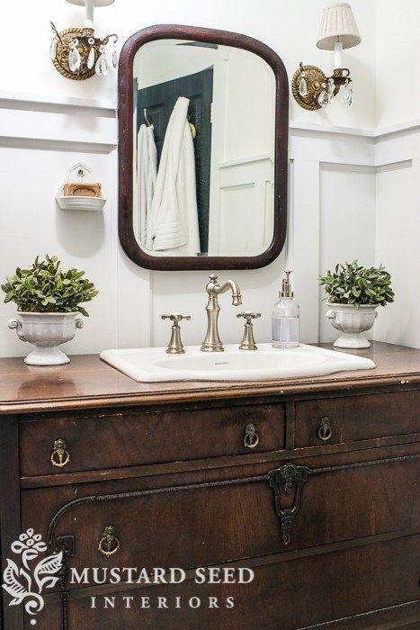Bureau vanity