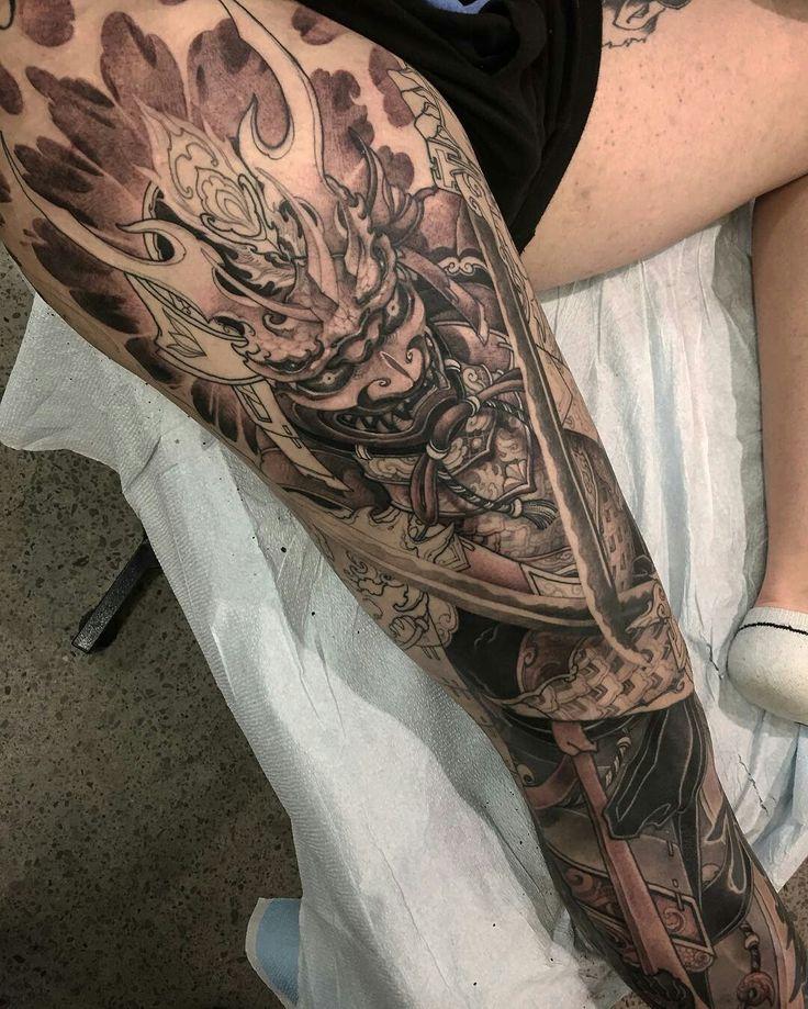 Tattoo done by: Tristen Zhang #oriental #tattoooriental #tatuajejapones