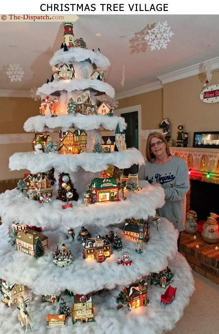 17 Of 2017s Best Christmas Village Display Ideas On