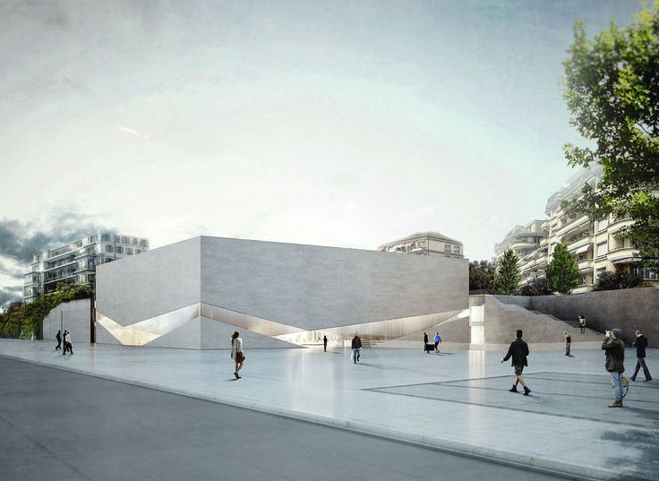 Aires Mateus Wins Competition to Design New Pôle Muséal of Lausanne,© Aires Mateus