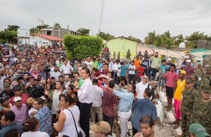 ¿Que Ha Hecho El Gobierno De Peña Nieto Para Ayudar A Las Víctimas Del Terremoto?