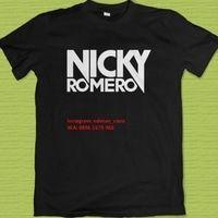 Kaos Distro DJ Nicky Romero EDM Merchandise