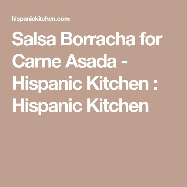 Salsa Borracha for Carne Asada - Hispanic Kitchen : Hispanic Kitchen