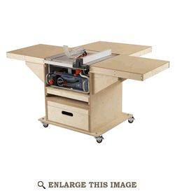 Quick-Convert Tablesaw/Router Station Woodworking Plan