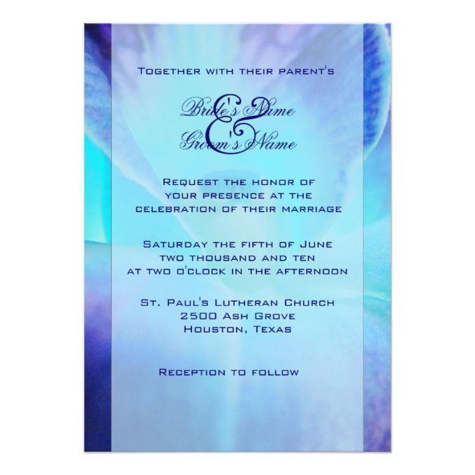 Purple And Blue Weding Invitations 028 - Purple And Blue Weding Invitations