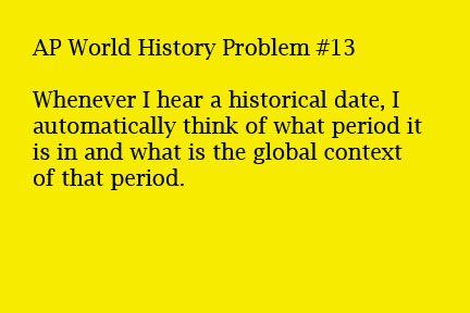 ap world history essay rubric