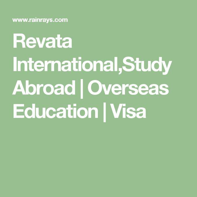 Revata International,Study Abroad | Overseas Education | Visa