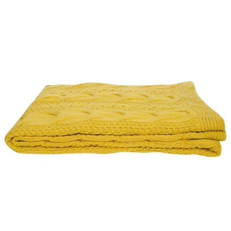 Eliza Throw 130x150cm  Yellow