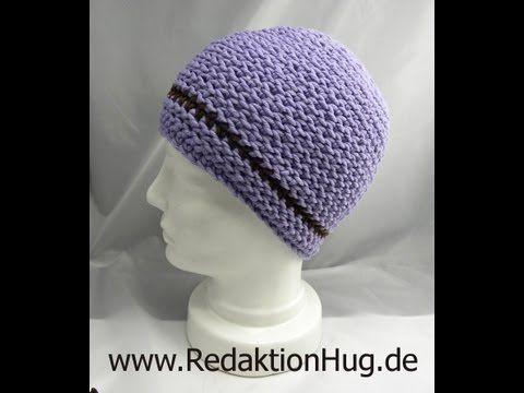 Häkeln - HUG-Mütze Variante A aus hatnut XL 55 - YouTube