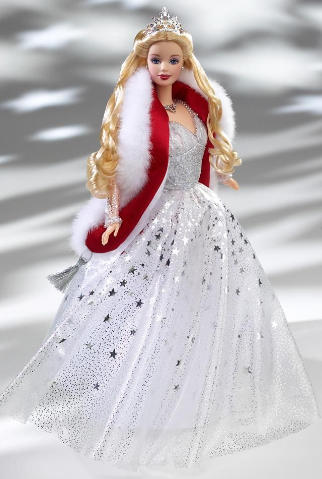 Holiday Celebration Barbie. Special Edition. Release date: 9/1/2001  PC:50304