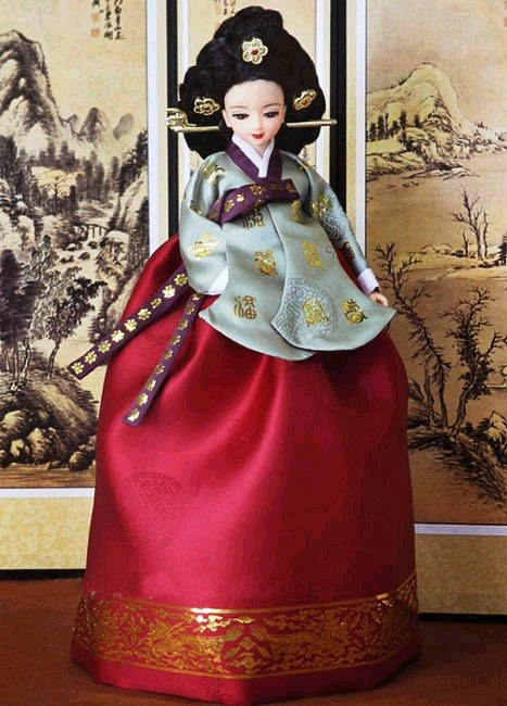 Korean hanbok - 정경부인