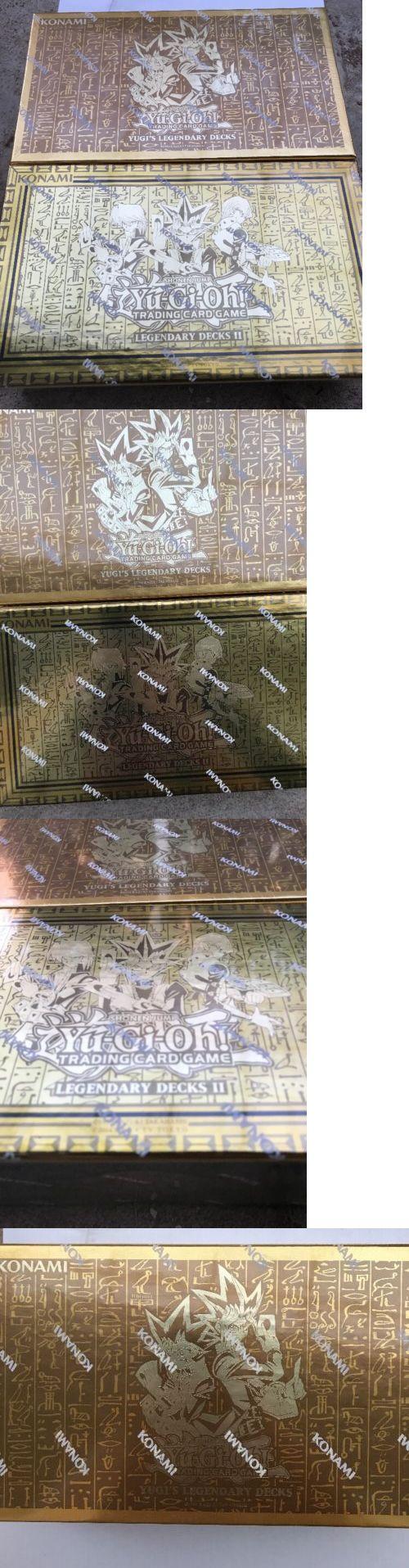 Yu-Gi-Oh Sealed Decks and Kits 183452: Yugioh Legendary Decks Box 1 And 2 Brand New Sealed -> BUY IT NOW ONLY: $74.99 on eBay!