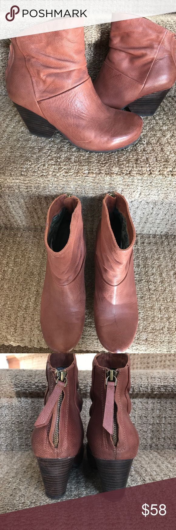 """OTBT """"Branford"""" short ankle boots OTBT """"Branford"""" booties   In really great condition. 3"""" wooden heel. Non skid sole. Worn maybe 3x OTBT Shoes Ankle Boots & Booties"""