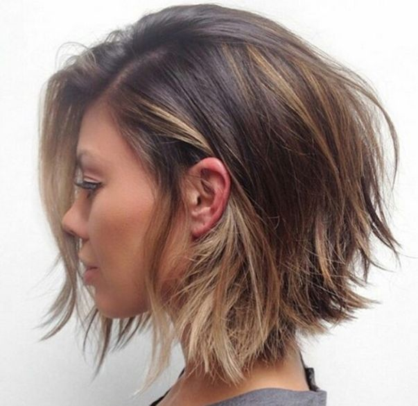 deconstructed and very textured short shaggy bob https://www.facebook.com/shorthaircutstyles/posts/1720573218233118