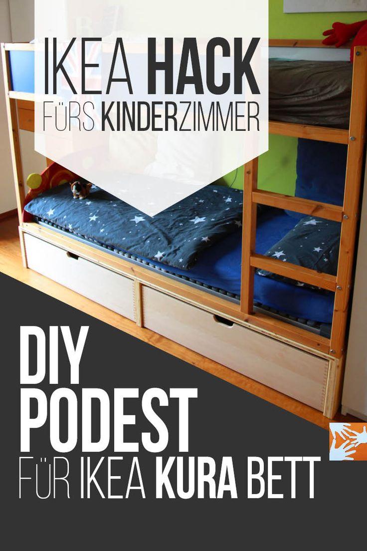 Bett selber bauen podest ikea  Die besten 25+ Selber bauen podest Ideen auf Pinterest | Podest ...