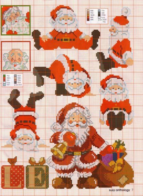 ♥Meus Gráficos De Ponto Cruz♥: Papai Noel em Ponto Cruz para o Natal