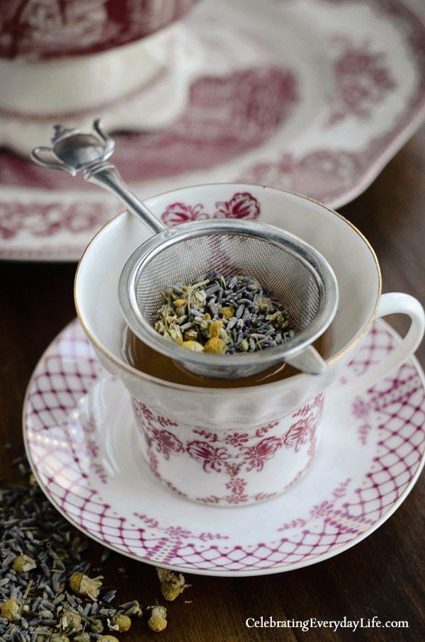 Chamomile & Lavender Tea recipe | Celebrating everyday life with Jennifer Carroll