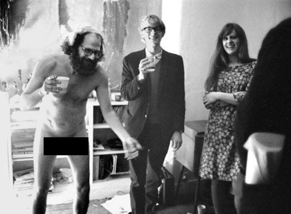 Allen ginsberg's 39 th birthday party