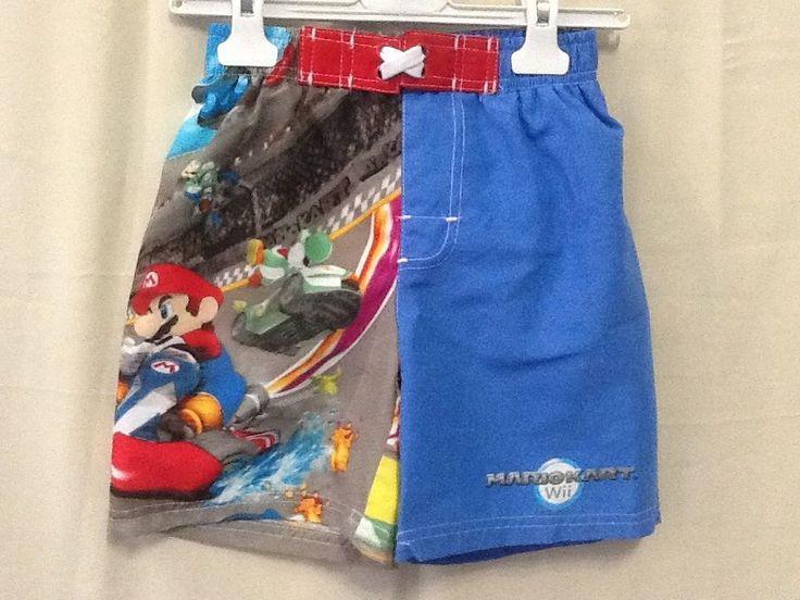 Costume da bagno bambino mare piscina bermuda Super Mario 6 anni