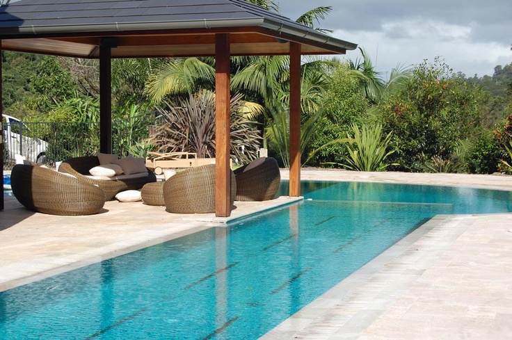 Lap pool with tile lane lines pool pinterest lap for Average square footage of a swimming pool