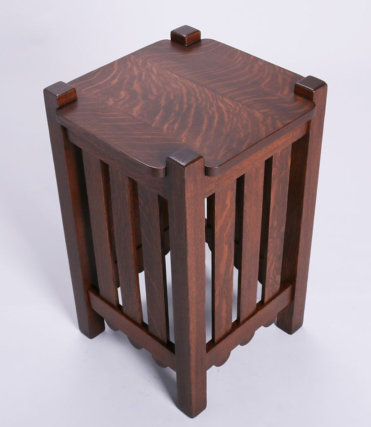 Stickley Brothers Slatted End Table