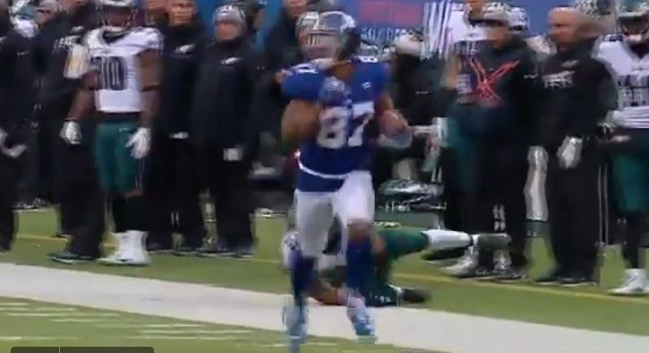 New York Giants wide receiver Sterling Shepard turned a short pass into an impressive 67-yard touchdown against Philadelphia in Week 15.
