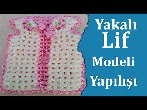 Yakalı Lif Modeli Yapılışı - Lif Modelleri - YouTube
