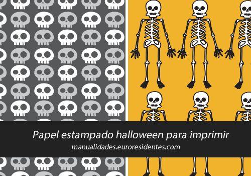 95 best images about papeles decorados papel scrapbook on for Decoracion para halloween