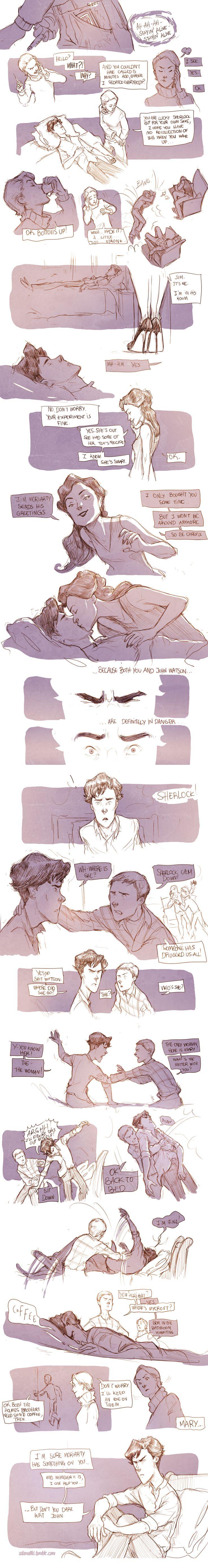 Teen Sherlock - The sign of three Pt3 by DrSlug.deviantart.com on @deviantART