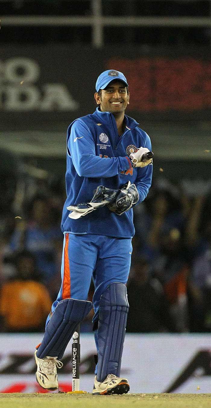 36=: MS Dhoni - India.