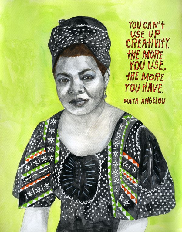 best people a angelou images live life a  the more courageous we are the more we succeed in explaining what we know a angelou illustration by lisa congdon