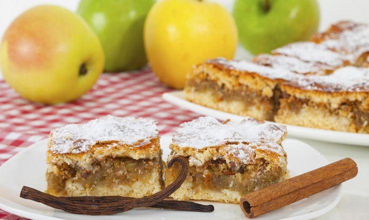 Božské řezy s jablečno-skořicovou náplní
