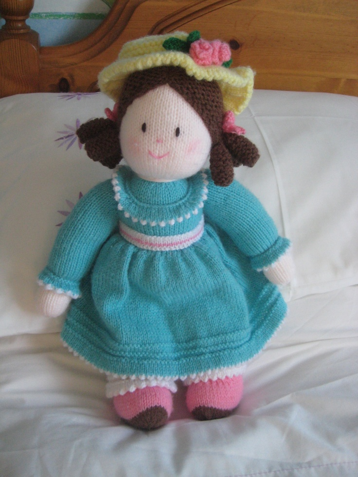 A doll for my granddaughter which I completed a few years ago.  A Jean Greenhowe pattern.
