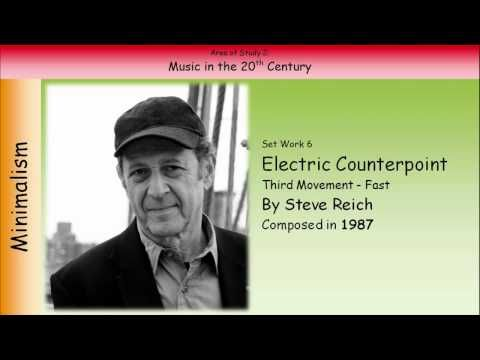 ▶ 6. Electric Counterpoint (Third Movement - Fast) - Reich (GCSE Music Edexcel) - YouTube