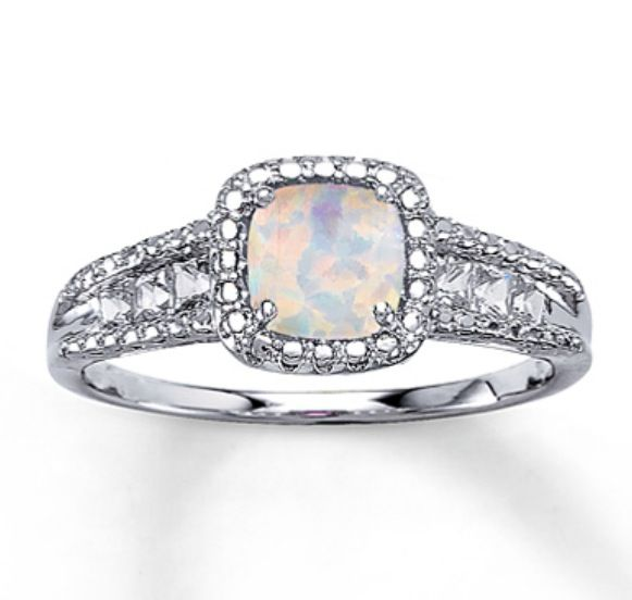 opal ring october birthstone megs pinterest