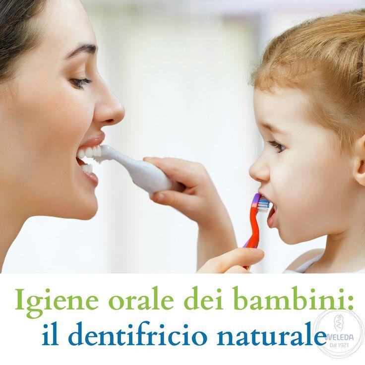Dentifricio naturale per bambini: molte paste dentifricie contengono ingredienti di origine sintetica. I prodotti Weleda no.