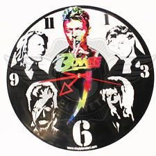 VINYL PLANET Wall Clock DAVID BOWIE 5