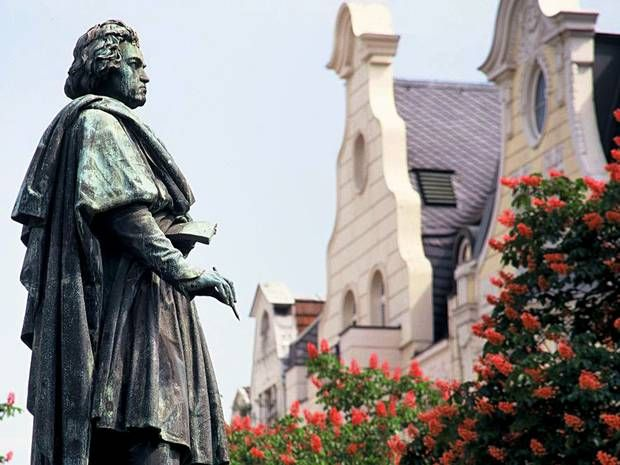 Beethoven statue, Bonn, Germany
