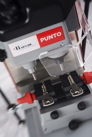 Mechanical #key cutting machine Punto: 30 years of tireless work