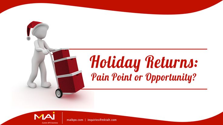Returns are part and parcel of e-commerce businesses. One in every three online sales comes back as a return. The National Retail Federation estimates about 10% of items purchased during the 2015 holiday season coming back as returns.