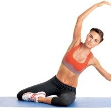 Strengthen your core (the muscles from your hips to your shoulders) with this core building Pilates workout.
