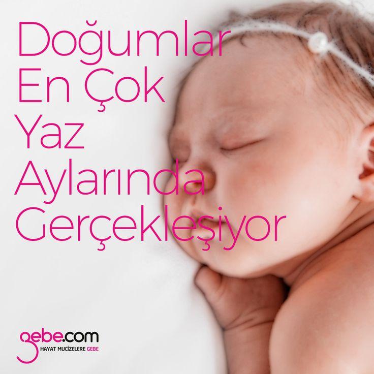 Türkiye Halk Sağlığı Kurumu Kadın ve Üreme Sağlığı Daire Başkanlığı tarafından açıklanan verilere göre, Türkiye'de, 2016 yılı için en çok doğumun gerçekleştiği dönemin yaz ayları olduğu belirtildi. #gebecom #gebeonline #hamile #pregnant #baby #bebek #yenidoğan #gebelikgunlugu ▶️goo.gl/iEMdJY