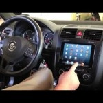 Soundwaves of Tampa installs iPad Mini into 2010 VW Jetta with Sony App Remote